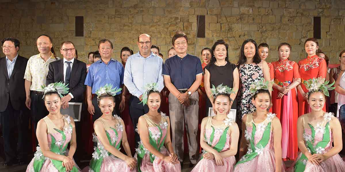 QG MAJOR SPONSOR FOR CHINESE & CYPRIOT TRADITIONAL MUSIC AND DANCE PERFORMANCE